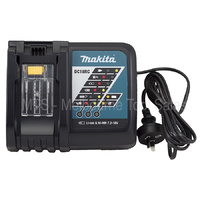 MAKITA DC18RC 7.2V - 18V RAPID BATTERY CHARGER LITH - ION 240 VOLT