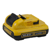 GENUINE DEWALT DCB127 10.8V / 12V 2.0 AH LITHIUM ION BATTERY