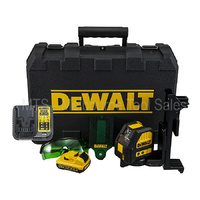 DEWALT 10.8V / 12V GREEN BEAM CROSS LINE LASER LEVEL KIT - DW088LG / DCE088D1