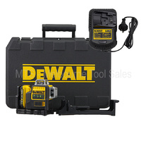 DEWALT DW089LG / DCE089D1G 10.8V / 12V 3 x 360 DEGREE GREEN BEAM LASER LINE LEVEL
