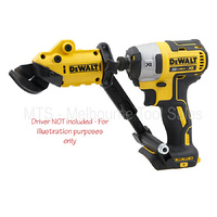 DEWALT DWASHRIR 18G SHEET METAL CUTTER SHEAR ATTACHMENT FOR MOST IMPACT DRIVERS