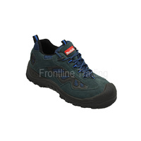 MAKITA WORK BOOTS - steel toe safety boots - Blue
