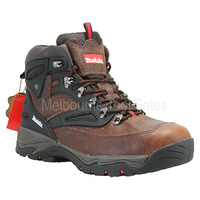 MAKITA MW349 XPT  LEATHER SAFETY WORK BOOTS / SHOES