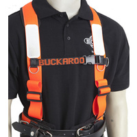 BUCKAROO TMH SHOULDER BRACES - ORANGE FLUORO
