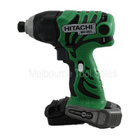 HITACHI WH18DL 18V LITH-ION CORDLESS IMPACT DRIVER