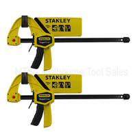 2 X Stanley 0-83-005 Quick Grip Locking 30 Cm Trigger ClampS