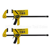 2 x Stanley 0-83-008 Large Trigger Clamps 900mm / 90CM Quick Locking