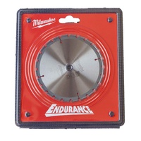 Milwaukee Endurance 165Mm 24T 5/8 Arbor Circular Saw Blade - Made In Japan