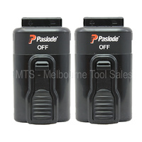 2 x Original Paslode 7.4v Lith Batteries For CF325 902400 IM250a P/N 902654