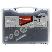 Makita D-47117 Plumbers Holesaw Kit 6 Pieces