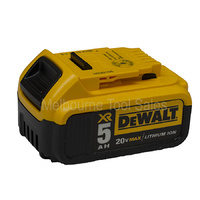 Dewalt DCB205 18v / 20v Max Premium XR 5.0 Ah Slide Lithium Ion Battery