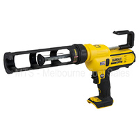 Dewalt 18v / 20v Xr Cordless Caulking Silicon Sausage Gun 300mm DCE560