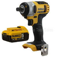 "DEWALT DCF880 18V 20V MAX LITH - ION CORDLESS 1/2"" IMPACT WRENCH With DCB184"