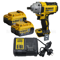 "Dewalt Dcf894B 18V / 20V 1/2"" High Torque Impact Wrench With 4.0Ah Batteries"