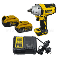 "DeWalt 18V / 20V 1/2"" High Torque Impact Wrench kit DCF894 with 5.0AH Batteries"