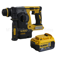 Dewalt DCH273 18v / 20v Cordless Brushless SDS Plus Rotary Hammer With DCB182 4.0 Ah Battery