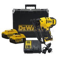 Dewalt 18v / 20v Xr Brushless 16 Ga Fixing Nail Gun Kit 20 Degree - DCN660