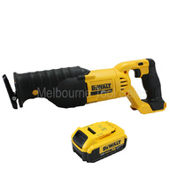 Dewalt DCS380 18v 20v Max Li-Ion Cordless Slide Type Reciprocating Saw  With DCB204 Battery