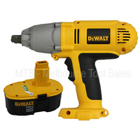 "Dewalt DW059 18v Cordless 1/2"" Impact Wrench - Nano Base With DC9096 Battery"