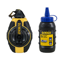 DEWALT 30M CHALK LINE / REEL WITH BLUE CHALK DWHT47373L