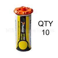 10 x Paslode Short Fuel Cell Yellow - for Fixers and Finish Nail Guns