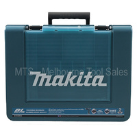 Makita 18v Drill Driver Case - Clear Flip Top Lid To Store Accessories
