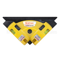 Right Angle Laser With Built In Level - Ideal For Tiling And Flooring