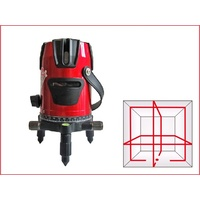 Red Line Laser 4v4h1d 4 Vertical And 4 Horizontal Lines With 360 Rotating Base