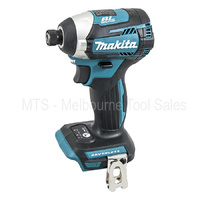 Makita 18v Brushless Impact Driver 3 Speed Compact Cordless XDT14 / DTD154