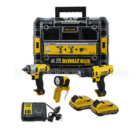 Dewalt 10.8v / 12v Drill DCD710 With Impact DCF815 Kit DCB127 Batteries