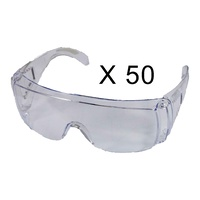 Paslode Safety Glasses - Clear Pack of 50