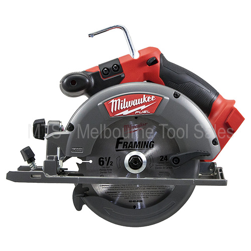 "Milwaukee 18V Cordless Brushless Circular Saw 165mm 6 1/2"" 2730-20 / M18CCS55-0"