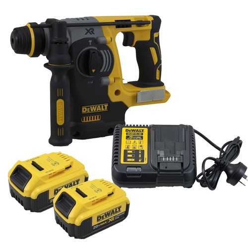 dewalt dch273 18v / 20v cordless brushless sds plus rotary hammer kit