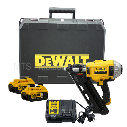 DeWalt 18v Brushless Nailer Framer Kit Li-Ion 2 Speed DCN692