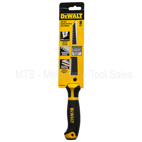 DEWALT JAB SAW FOR PLASTER / DRYWALL PLASTIC DWHT20540