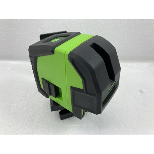 Green Beam Cross Line Laser Level With Plumb Bob Spot